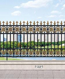 豪华别墅庭院围栏ST-WL-005