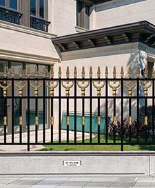 豪华别墅庭院围栏ST-WL-006