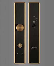 ST-B223高级指纹密码锁