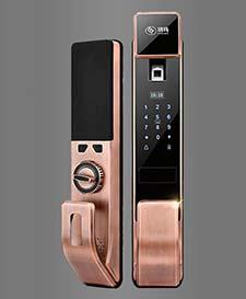 ST-B157高级指纹密码锁