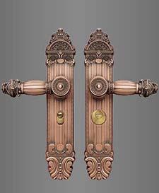 ST-B145镀铜双面活动拉手锁
