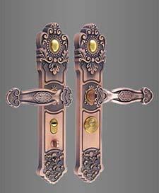 ST-B160镀铜双面活动拉手锁